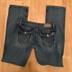 Miss Me bootcut jeans pants size 31
